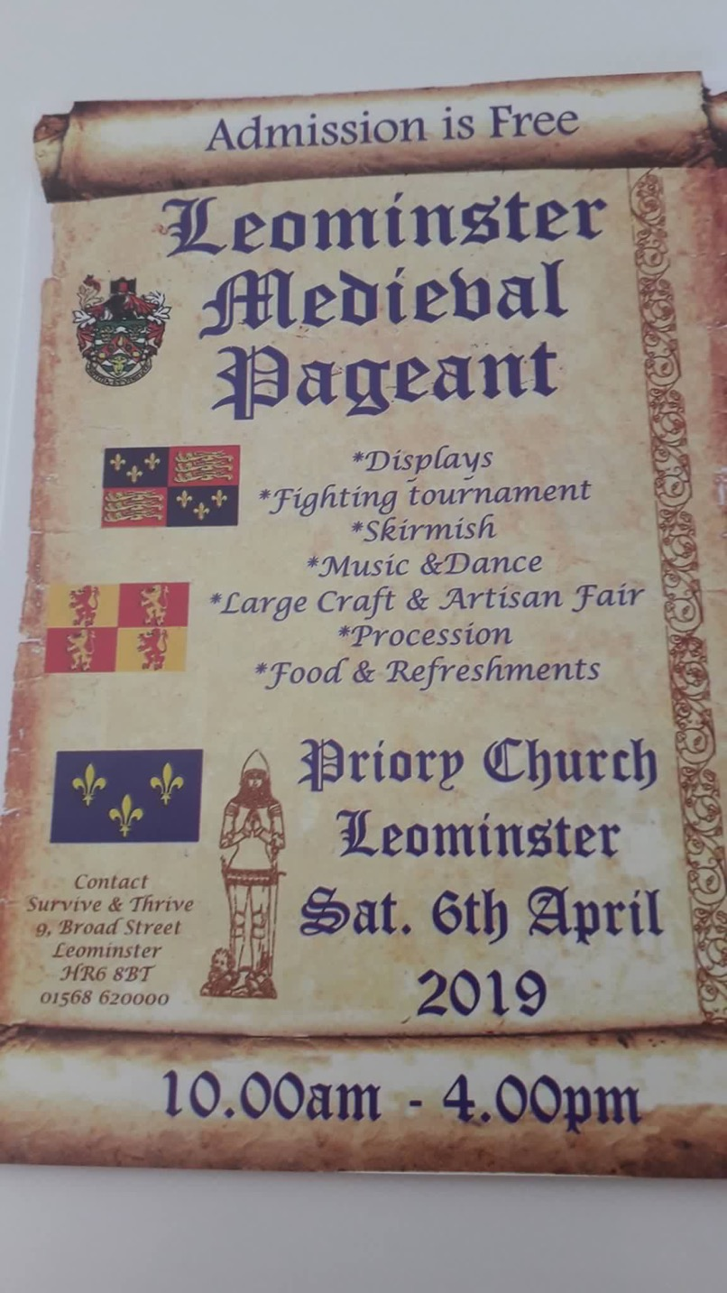 Medieval Pageant – Craft Hereford